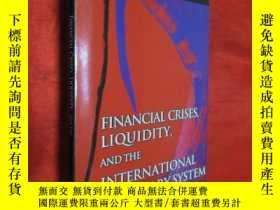 二手書博民逛書店Financial罕見Crises, Liquidity, an