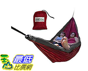 [美國直購] 吊床 Trek Light Gear Double Hammock - The Original Brand of Best-Selling Lightweight Nylon Hammocks B00857IES0