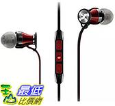 [106 美國直購] Sennheiser HD1 黑紅 (Android version)入耳式耳機 In-Ear Headphones Black Red
