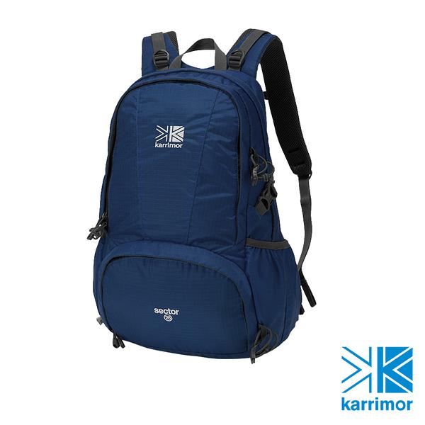 日系[ Karrimor ] sector 25 休閒登山後背包  淺墨水藍