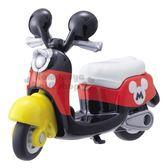 〔小禮堂〕迪士尼 米奇 TOMICA摩托車《DMA-03.黑紅》10週年紀念.公仔.模型.玩具 4904810-12955