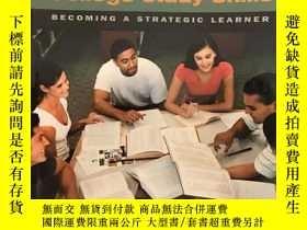 二手書博民逛書店ollege罕見Study Skills: Becoming a