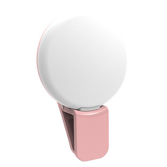 手機補光燈 抖音神器 直播 拍照 美顏美肌 安卓蘋果 USB 自拍燈 LED燈 美顏手機補光燈【P092】MY COLOR
