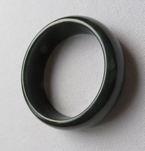 天然和田青玉手鐲#0217 58.7mm