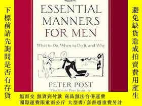 二手書博民逛書店Essential罕見Manners For MenY364682 Peter Post Collins 出