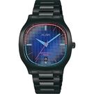 ALBA 雅柏 方型復古休閒腕錶 VJ42-X308SD AS9L87X1