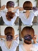 盤髮器 盤髮器丸子頭造型器韓國頭飾花苞頭神器百變蓬鬆懶人髮帶扎頭髮飾 店慶降價