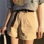 女裝韓版高腰寬鬆顯瘦休閒短褲