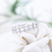 925純銀戒指 鑲鑽-高貴閃耀生日母親節禮物女配件73an42【巴黎精品】