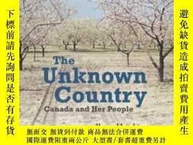 二手書博民逛書店The罕見Unknown Country: Canada And