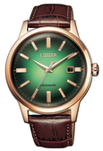 【分期0利率】星辰錶 CITIZEN 機械錶 箱型鏡面 41mm全新原廠公司貨 NK0002-14W