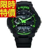 運動手錶-防水與眾不同休閒電子腕錶5色61ab17【時尚巴黎】