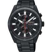 SEIKO精工 Criteria 極速限定計時男錶-鍍黑/42mm V176-0AW0SD(SSC657P1)