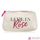 LANCOME 蘭蔻 法式玫瑰人生化妝包(24x13.5x5cm)【美麗購】