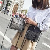 手機包—鏈條手機包女新款時尚迷你小包韓版單肩斜背包手機袋圓環包女 依夏嚴選