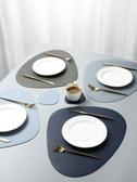 餐墊北歐風皮革餐桌墊家用西餐墊防水防油隔熱墊創意碗墊子杯墊餐盤墊 玩趣3C