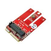 Awesome 和順 PCIe & USB M.2 Wireless 模組 轉 miniPCIe 轉接卡 AWD-DT-134E