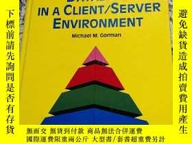 二手書博民逛書店ENTERPRISE罕見DATABASE IN A CLIENT SERVER ENVIRONMENTY109