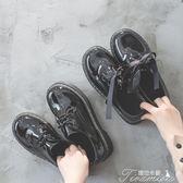 娃娃鞋 學院風zipper大頭娃娃鞋英倫軟妹ins小皮鞋女原宿學生鞋子  新年下殺