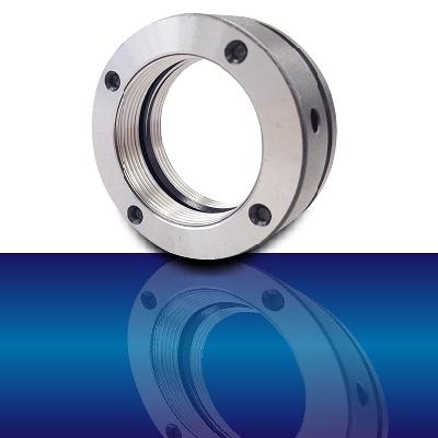 精密螺帽MKR系列MKR 14×1.5P 主軸用軸承固定/滾珠螺桿支撐軸承固定