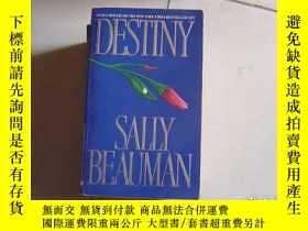 二手書博民逛書店DESTINY罕見SALLY BEAUMANY9890 出版1988