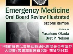 二手書博民逛書店Emergency罕見Medicine Oral Board Review Illustrated 2nd Edi