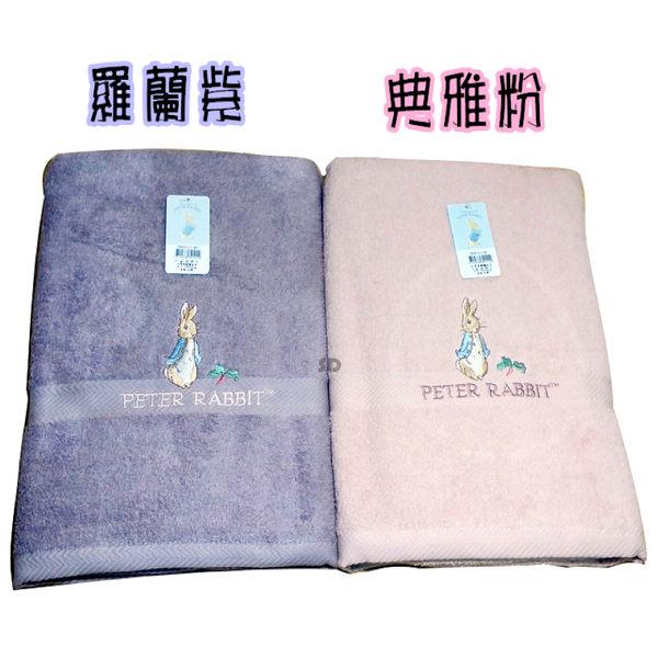 【台灣製造】PETER RABBIT 比得兔/彼得兔舒棉精繡大浴巾PR20111