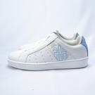 Royal GENESIS 無鞋帶 休閒鞋 皮革 公司貨 91901500 女款 白x藍亮片【iSport愛運動】