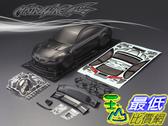 [9玉山最低比價網] 1/10 競速漂移改裝車殼 高品質 PC透明碳纖車殼 寶馬 M3 190mm (碳纖版標)