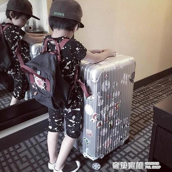 超大容量加厚鋁框運動學生34寸行李箱女pc男拉桿箱子32寸托運旅行【全館免運】vpn