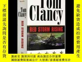 二手書博民逛書店Red罕見Storm Rising Tom Clancy 紅色風