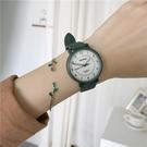 手錶 高考中考用考試手表女生中學生韓版簡約復古森系文藝初高中皮帶表 【618 大促】