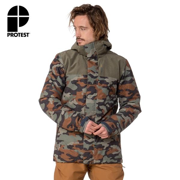PROTEST 男 機能防水保暖外套 (碎石綠) DECAY SNOWJACKET