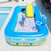 (快速)游泳池 兒童充氣游泳池超大號家用嬰兒寶寶游泳桶加厚大型家庭小孩洗澡池YYJ