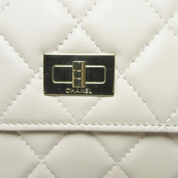 CHANEL 香奈兒 粉膚色羊皮菱格紋首飾包 2.55 Jewelry Case【BRAND OFF】