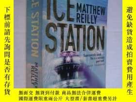 二手書博民逛書店Ice罕見Station 英文原版Y146810 Matthew