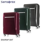 Samsonite 新秀麗【ENWRAP GN7】28吋行李箱 雙層防盜拉鍊 可擴充加大 PC輕量 雙軌飛機輪 圓夢計畫