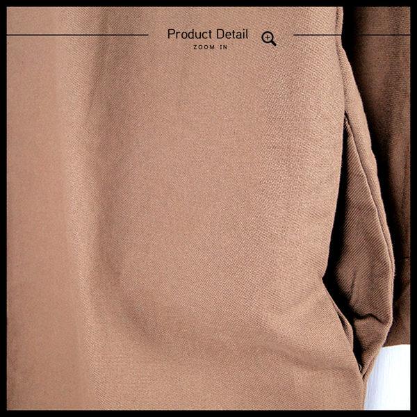 Melek 襯衫類 (共6色) 現貨【B12160923-1001~06】女長襯素面銅釦款 長版襯衫/襯衫洋
