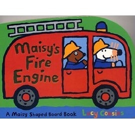 【小鼠波波造型書】MAISY' FIRE ENGINE  /硬頁書