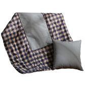 雙12購物狂歡- 車載抱枕被子兩用全棉汽車多功能折疊一對靠墊車上四季小車內枕頭ZMD交換禮物