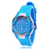 兒童指針手錶兒童手錶指針式男孩電子錶防水防摔中小學生手錶女石英錶 聖誕節