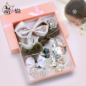 韓國兒童發夾發飾女童發繩頭繩公主寶寶發卡