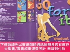 二手書博民逛書店Go罕見for it! Book 4[新目標英語4 課本]Y465321 David Nunan 著 Hei