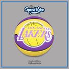斯伯丁籃球 SPALDING 2015 NBA 隊徽球 湖人隊 紫黃 室外球 # SPA83156  ☆speedkobe☆