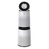 LGWIFI360度雙層空氣清淨機白-AS101DWH0