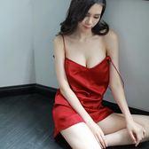 性感睡衣女性感吊帶睡裙極度誘惑透明小胸露背騷情調依人激情套裝