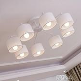 吊燈 北歐後現代簡約風格臥室吊燈大氣美式圓形led餐廳燈具創意客廳燈 LX 新品