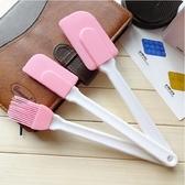 [拉拉百貨]3入矽膠刮刀 蛋糕工具 粉色矽膠刷刀 刮刀 蛋糕奶油刮板 烘培基礎工具