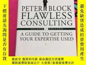 二手書博民逛書店Flawless罕見Consulting: A Guide to