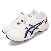 Asics 慢跑鞋 Tarther Japan 虎走 白 深藍 男鞋 馬拉松 日本製 【PUMP306】 1013A007100